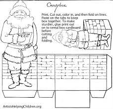 christmas paper crafts printable cheminee website