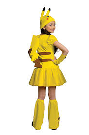 nurse halloween costume party city amazon com pokemon pikachu costume dress large toys u0026 games