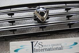 lexus is300 front grill emblem 1998 1999 2000 2005 altezza genuine grille grill vip jdm sxe10