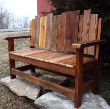 Rustic Outdoor Furniture by 21 Amazing Outdoor Bench Ideas Style Motivation