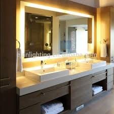 Lighted Bathroom Mirrors Ul Approved Led Back Lighted Bathroom Mirror Buy Led Bathroom