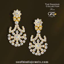 earrings in grt diamond earrings designs from grt jewellers earrings collections
