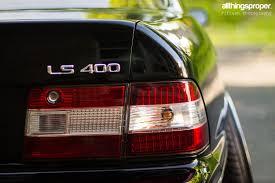 lexus ls400 vip ty u0027s lexus ls400 allthingsproper