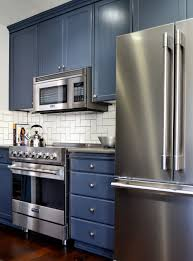 interior blue grey painted kitchen cabinets intended for amazing