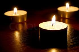 of small candles on a background stock photo colourbox