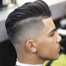 mens hairstyles undercut side part elegant and interesting disconnected undercut fade intended for