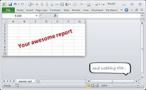 show only few rows u0026 columns in excel quick tip chandoo org