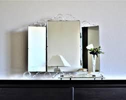 tri fold bathroom mirror tri fold bathroom mirror