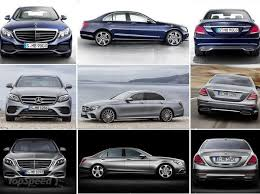mercedes c class vs s class mercedes in the car mercedes sets up e class with