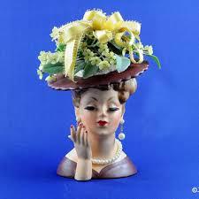 Napco Lady Head Vase Best Lady Head Vases Products On Wanelo