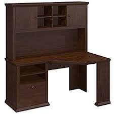 Corner Desk Hutch Bush Furniture Cabot Corner Desk With Hutch In