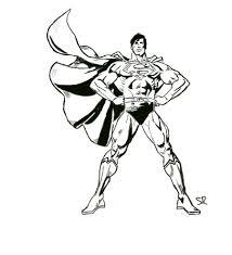 superman sketch by staticred on deviantart