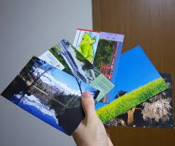 home made postcards from recycled materials free 5 steps with