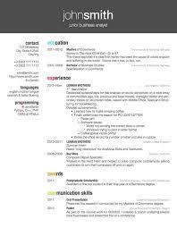 free resume word templates free typographic resume tempalate free
