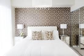 a wallpaper accent wall b a s blog