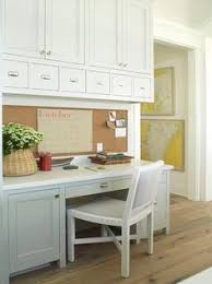 kitchen desk ideas kitchen desk the homeowner has views of the yard from desk