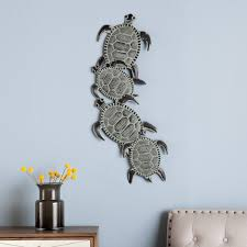 southern enterprises metal turtle wall art walmart com