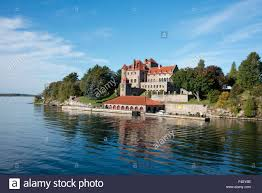 Thousand Islands by New York St Lawrence Seaway Thousand Islands Singer Castle On