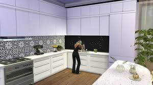 Wallpaper For Kitchen Backsplash Mod The Sims Kitchen From Perfect Patio Stuff No Backsplash