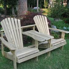 Tete A Tete Garden Furniture by Spacious Double Adirondack Chairs Dfohome
