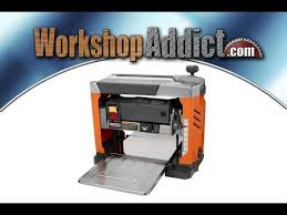 ridgid 13 inch thickness planer r4331 review youtube