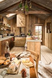 best small cabin kitchens ideas pinterest rustic and romantic firefly cabin has the time worn patina rough charm