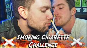 Challenge Through Nose Cigarettes Through The Nose Challenge