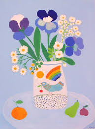 The Blue Vase Nareva Paintings Gallery