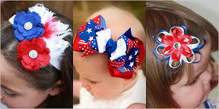 fourth of july hair bows 25 fourth of july headbands hair bows 2014 for kids