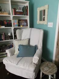 living a cottage life tutorial wing chair slipcover