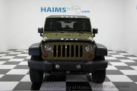 Used Jeep Wrangler Unlimited 2013 Used Jeep Wrangler Unlimited 4wd 4dr Rubicon At Haims Motors