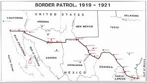 map us mexico border states united states army border air patrol