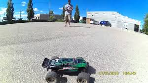 brandon enjoying s912 luctan 1 12 scale monster truck