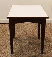 mid century modern surfboard coffee table mid century danish modern floating top jens risom side table from