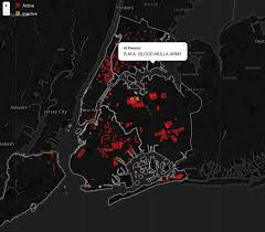 New York Gang Territory Map by Interactive Map Showing Territories Of All Known Gangs In New York