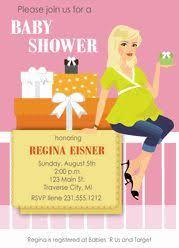 Modern Mommy Baby Shower Theme - stylish mom baby shower invitations african american baby