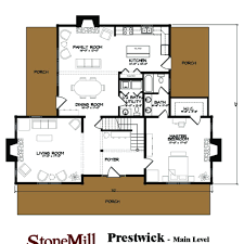 prestwick stonemill log u0026 timber homes