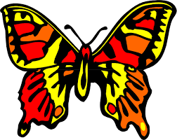cute cartoon butterfly butterfly banner clipart library clip