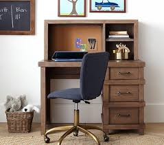 Desk With Computer Storage Owen Storage Desk Hutch Pottery Barn