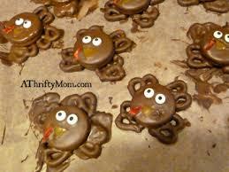 turkey cookies easy thanksgiving snacks