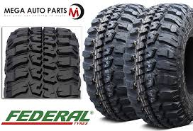 Federal Couragia Mt Tread Life 2 X New Federal Couragia Mt 31x10 50r15 109q Off Road All Terrain