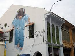 where to find the street art in georgetown penang map little girl in blue by ernest zacharevic where to find street art in georgetown