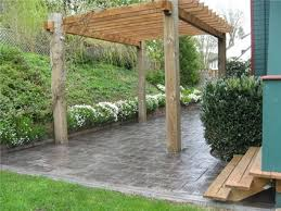 How Much Is A Stamped Concrete Patio by Simple Design Cost Of Concrete Patio Exciting Stamped Concrete
