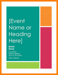 free event poster templates free event flyer templates word employ on free newsletter