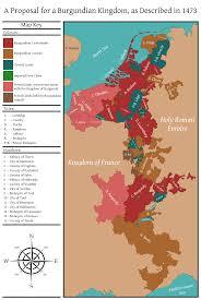 Map Of Burgundy France by A Proposal For A Burgundian Kingdom By Rarayn On Deviantart