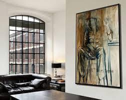 large living room wall art large wall art etsy