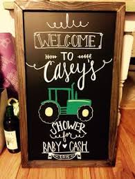 baby shower chalkboard baby shower chalkboard baby shower sign by sugarandchicshop