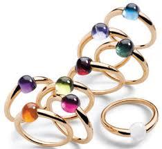 pomellato anelli anello m ama non m ama pomellato l arcobaleno al dito