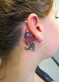 cover tattoo behind your ear 32 tattoos behind the ear the pros and cons tattoos win