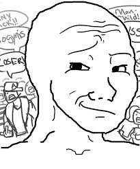 Depressed Meme Face - wojak feels guy know your meme